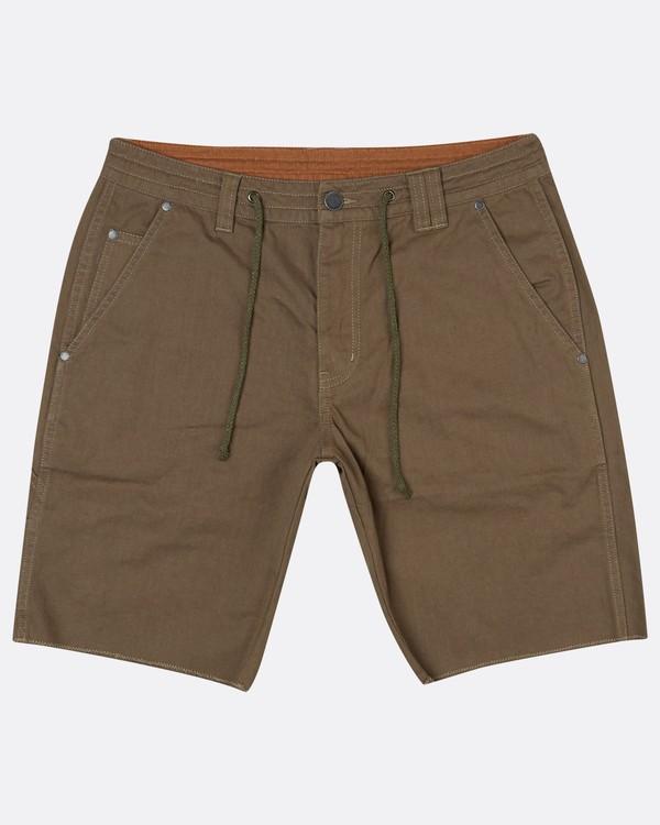 0 Craftman Short Walkshort 19 Inches Vert H1WK20BIP8 Billabong
