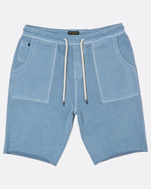 0 Wave Washed Short Walkshort 21 Inches Bleu H1WK24BIP8 Billabong
