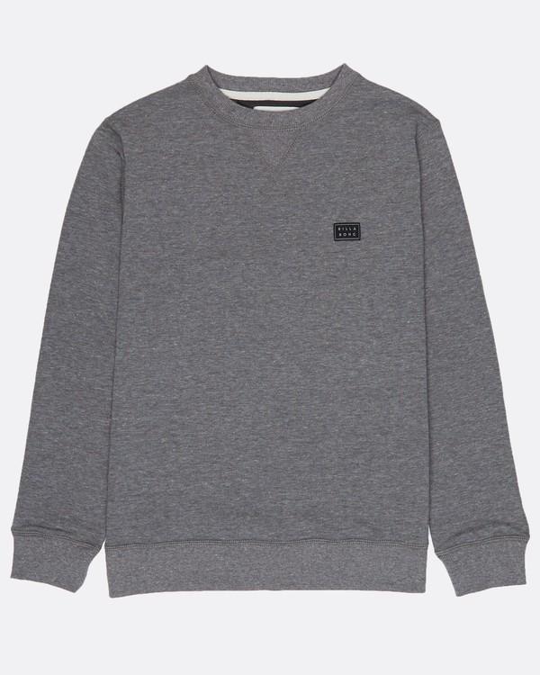 0 Boys All Day Crew Sweatshirt Gris H2FL01BIP8 Billabong
