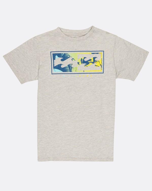 0 Boys Inverse T-Shirt Gris H2SS03BIP8 Billabong