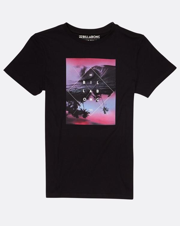 0 Boys Cross Section T-Shirt Noir H2SS04BIP8 Billabong