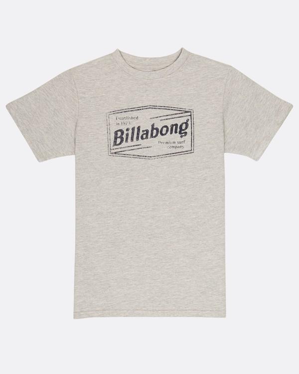 0 Boys Labrea T-Shirt Gris H2SS11BIP8 Billabong