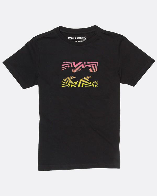 0 Boys Team Wave T-Shirt Noir H2SS14BIP8 Billabong