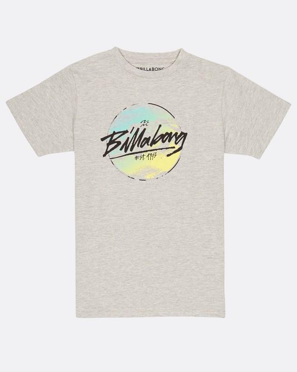 0 Boys Spray Quest T-Shirt Gris H2SS19BIP8 Billabong