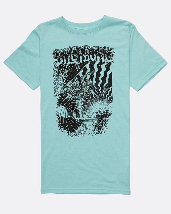 0 Boys Rise T-Shirt Bleu H2SS21BIP8 Billabong