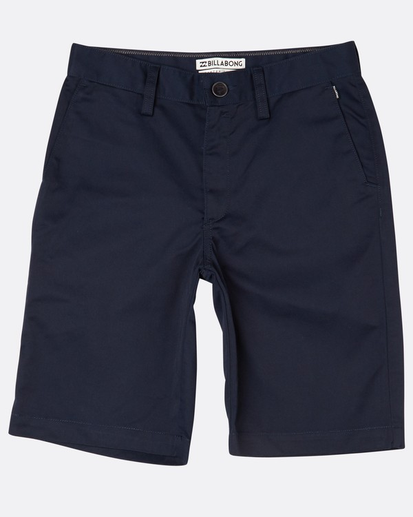 0 Boys Carter Walkshort Bleu H2WK03BIP8 Billabong