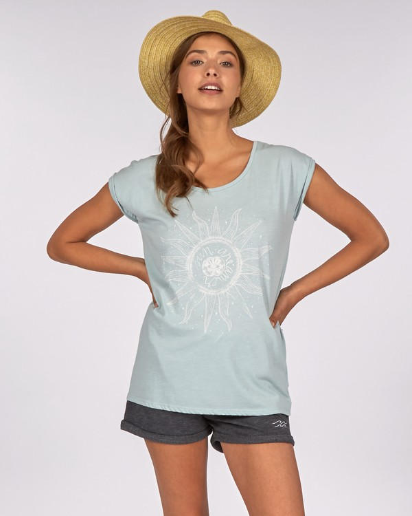0 All Night T-Shirt Bleu H3SS07BIP8 Billabong