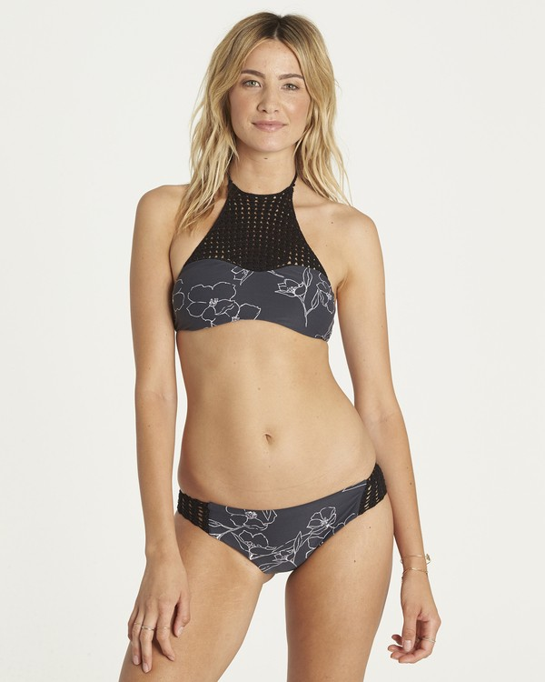 0 Nightfall High Neck Bikini Top Schwarz H3ST18BIP8 Billabong