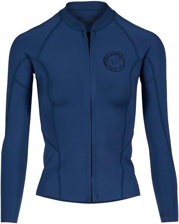 0 1MM Surf Capsule Peeky Front Zip Jacket Bleu H41G02BIP8 Billabong