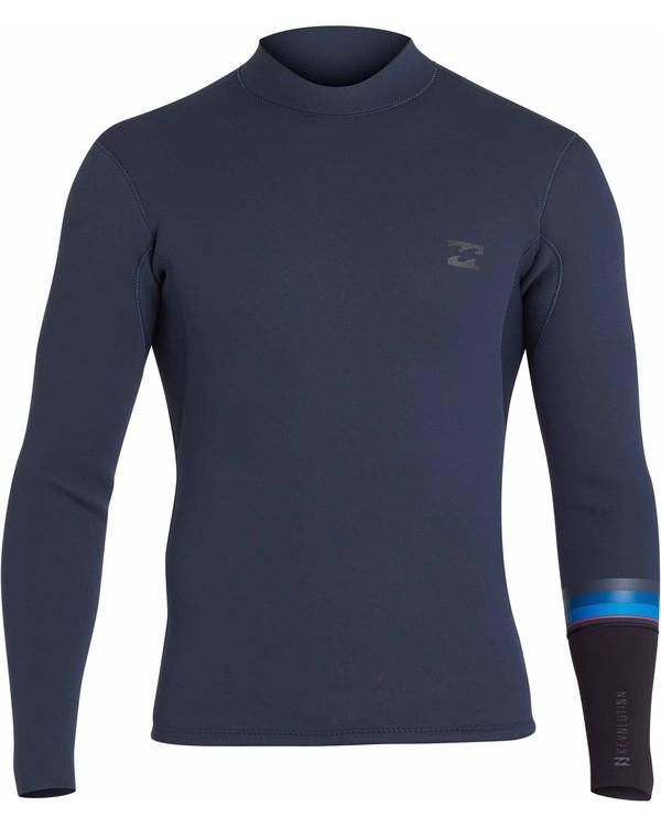0 2/2 Revolution Dbah Reversible Wetsuit Jacket Gris H42M02BIP8 Billabong