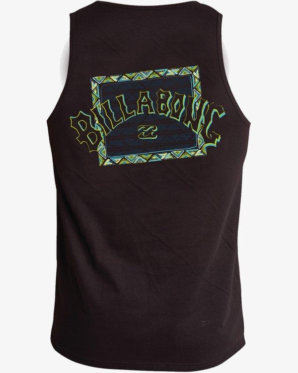 0 Singlet Re-Issue Surfing T-Shirt Noir H4EQ03BIP8 Billabong