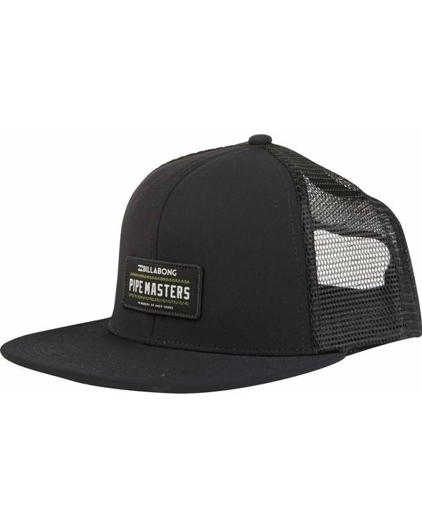 0 Pipe Masters Trucker Hat  H5CT06BIP8 Billabong