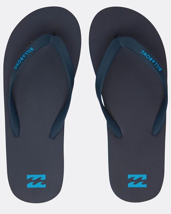 0 Tides Solid Sandals Blue H5FF01BIP8 Billabong