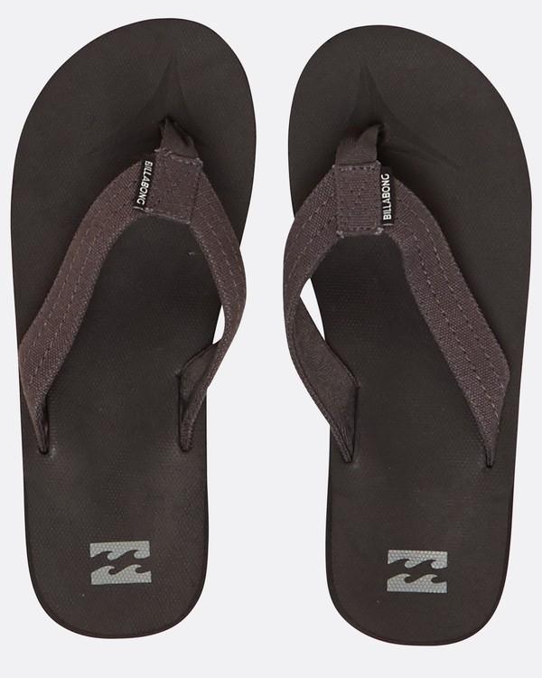 0 All Day Impact Canvas Sandals Noir H5FF13BIP8 Billabong