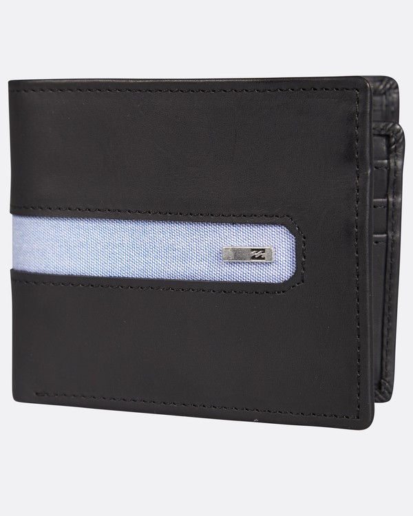 0 D Bah Leather Wallet Noir H5LW02BIP8 Billabong