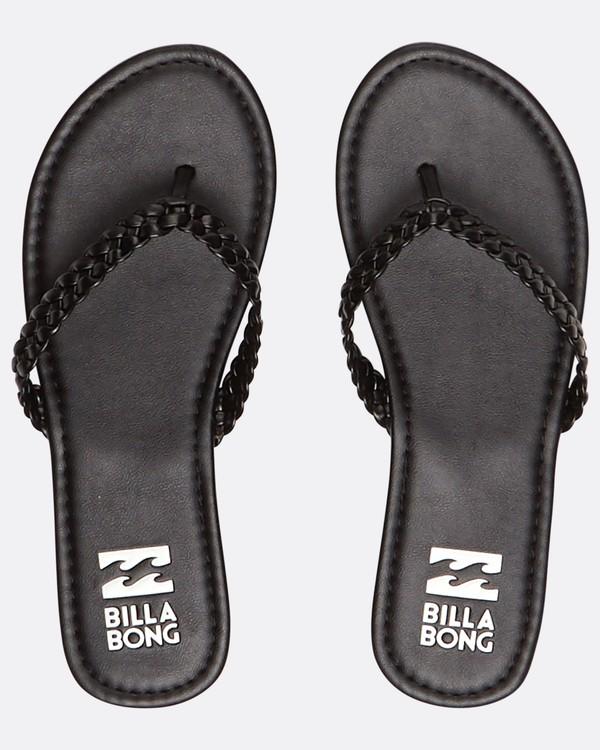 0 Beach Braid Sandals Noir H9FF07BIP8 Billabong