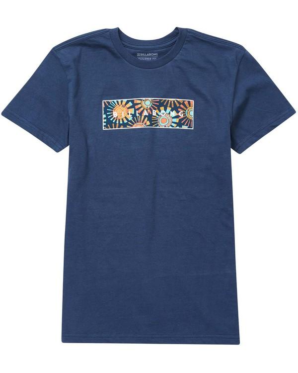 0 Baby Boys' United Menehune T-Shirt  I401NBUN Billabong