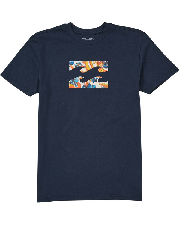 0 Baby Boys' Team Wave T-Shirt  I401QBTE Billabong