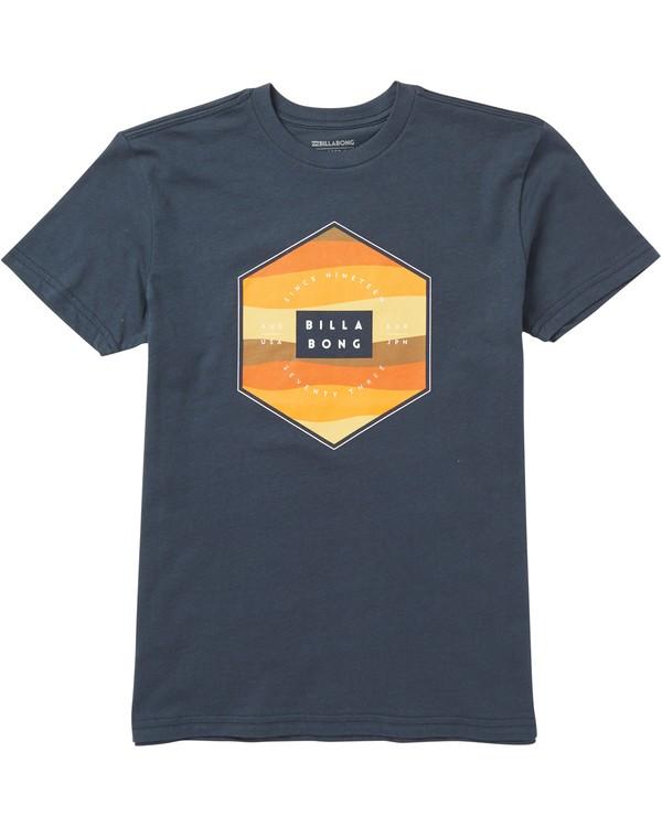 0 Baby Boys' Menehune Access Fill T-Shirt  I401SBAF Billabong