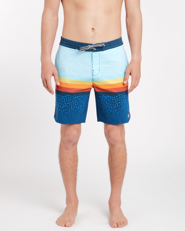 0 Fifty 50 Lo Tides 18'' Boardshorts Bleu J1BS08BIS8 Billabong