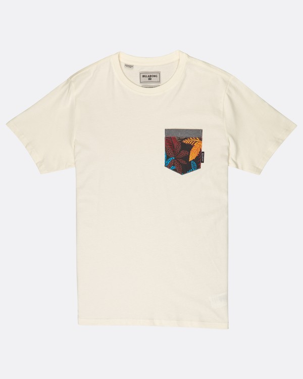0 All Day Print Pocket T-Shirt Bleu J1JE02BIS8 Billabong
