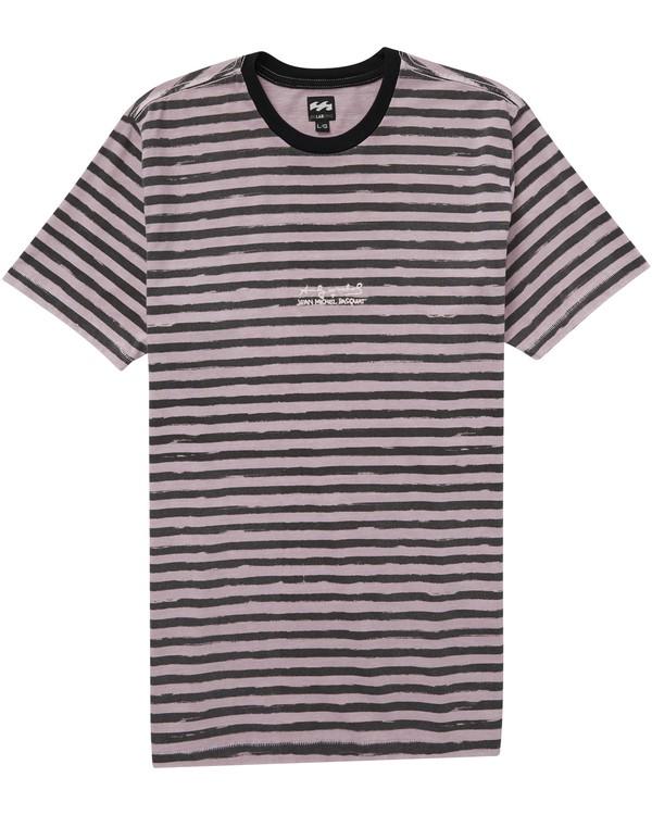 0 Epi Stripped T-Shirt Noir J1JE06BIMU Billabong