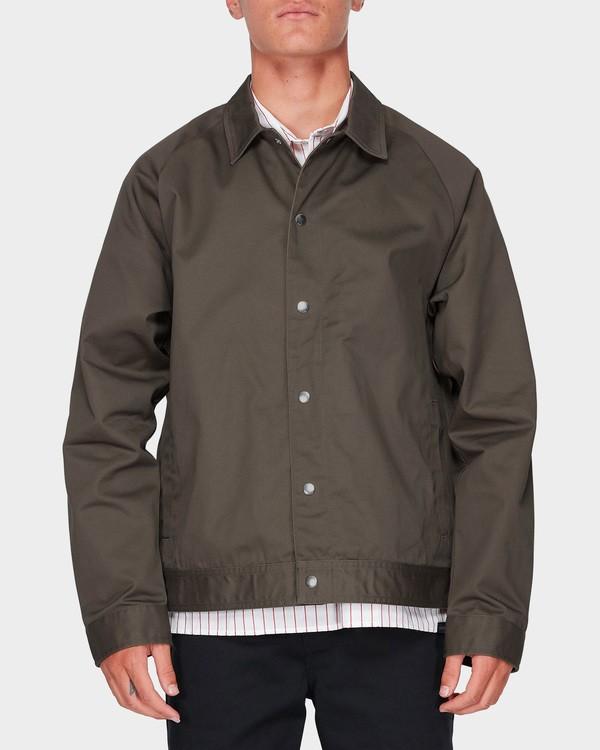 0 Creed Jacket Marron J1JK01BIS8 Billabong