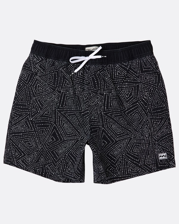 0 Sundays Laybacks 16'' Boardshorts Noir J1LB01BIS8 Billabong