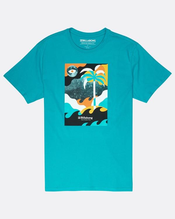 0 Spacecase T-Shirt Vert J1SS05BIS8 Billabong