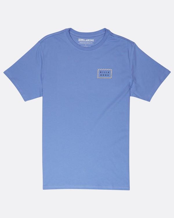 0 Border Die Cut T-Shirt Bleu J1SS08BIS8 Billabong