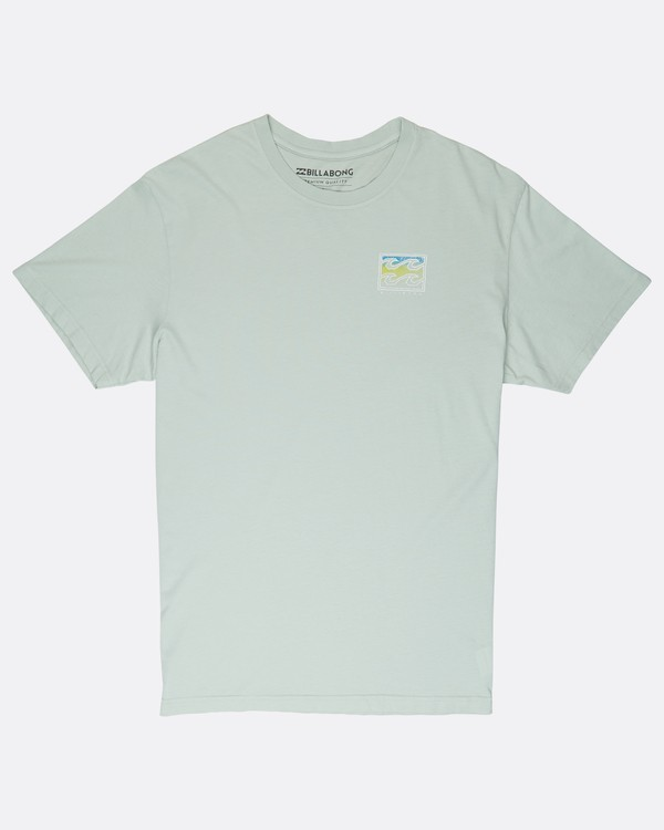 0 Crusty T-Shirt Green J1SS12BIS8 Billabong