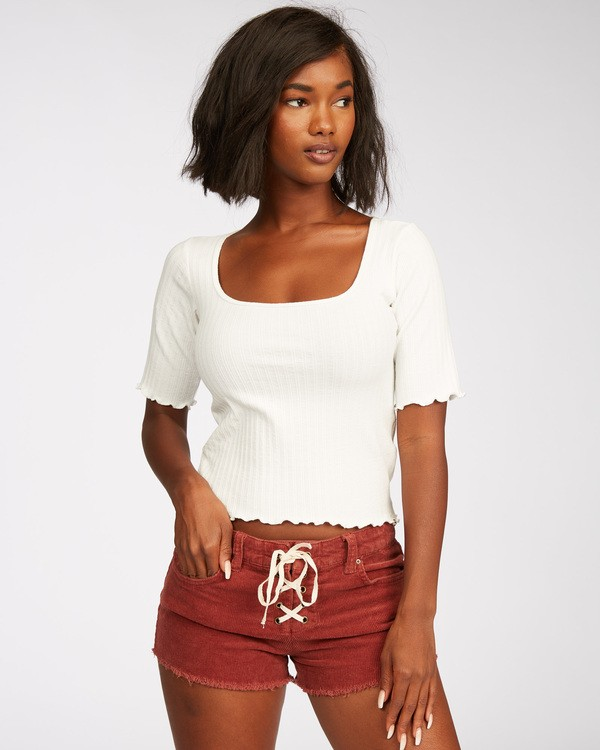 0 Lite Hearted Cord Short Brown J215VBLI Billabong