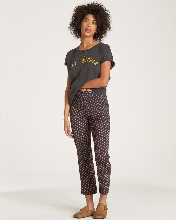 0 Sundown Crop Pant Black J329WBSU Billabong