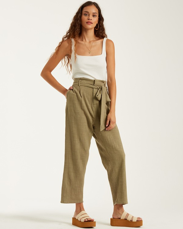 0 Sand Stand Pant Green J3862BSA Billabong