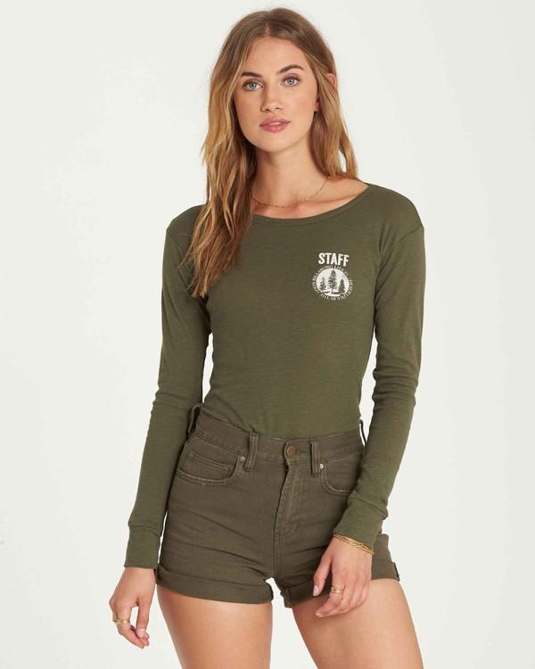 0 Staff Only Long Sleeve T-Shirt  J424QBST Billabong