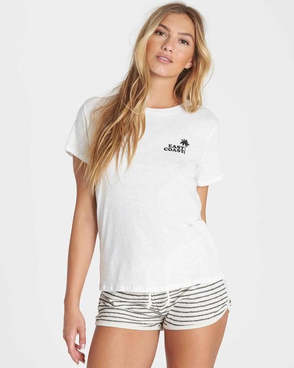 0 East Paradise T-Shirt  J437PBEA Billabong