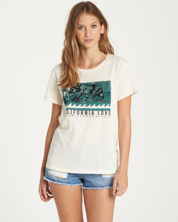 0 Cali Love T-Shirt  J437QBCA Billabong