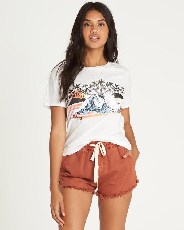 0 Daydream Scene T-Shirt Beige J437UBDA Billabong