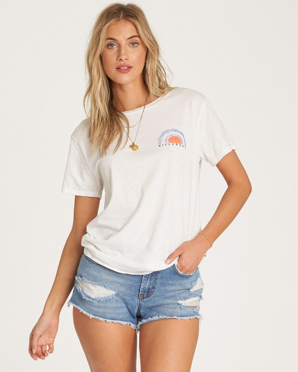 0 Dawn Sky T-Shirt White J437WBDA Billabong