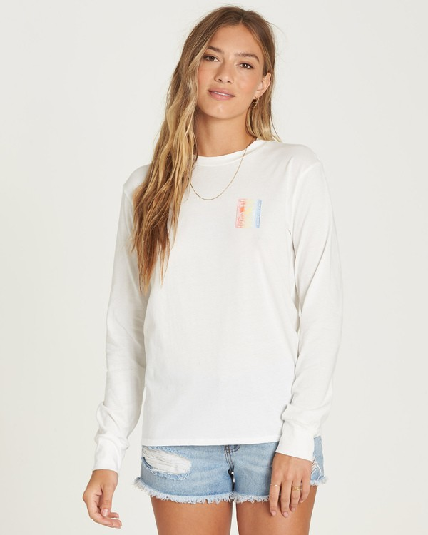 0 Know The Feeling Tee White J446UBKN Billabong