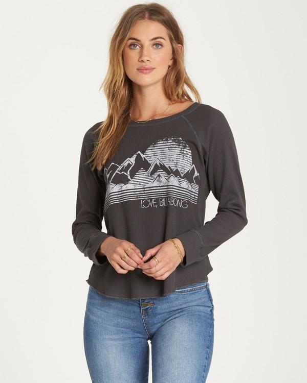 0 Love Billabong Thermal Long Sleeve T-Shirt  J447QBLO Billabong