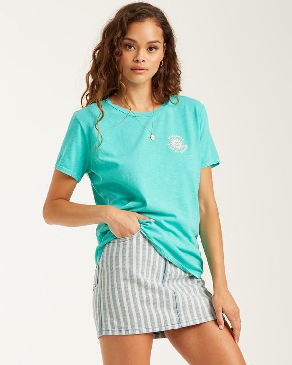 0 Summer Of Love T-Shirt Blue J4672BSU Billabong