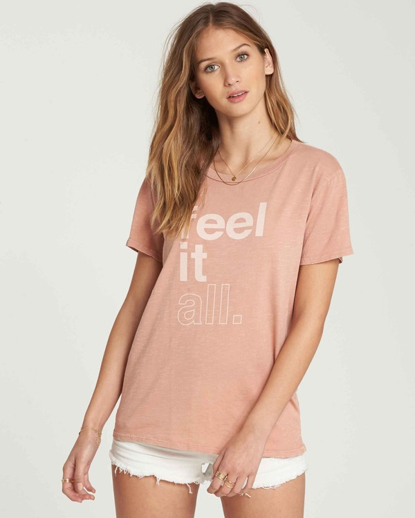 0 Feel It All T-Shirt  J467QBFE Billabong