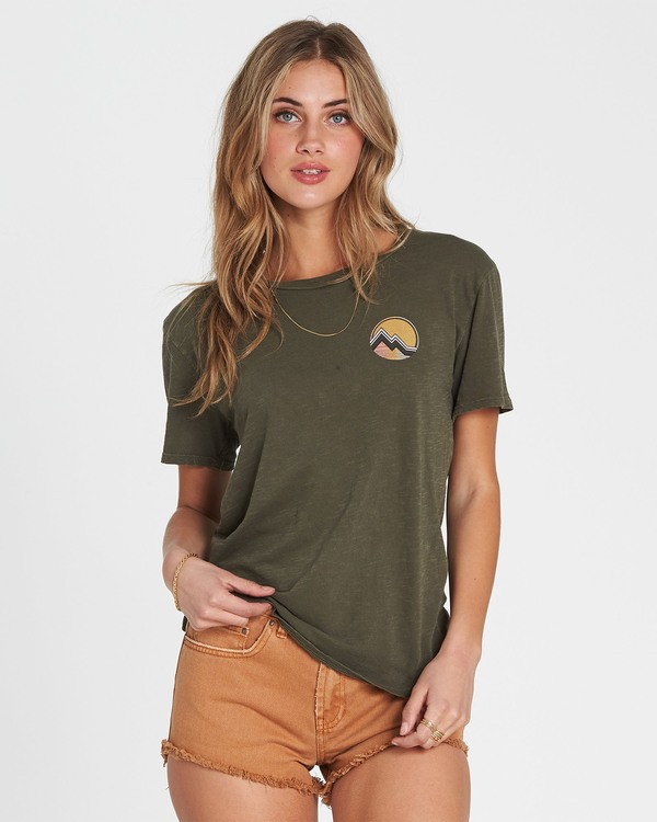 0 Vintage Scenic T-Shirt  J467SBVI Billabong