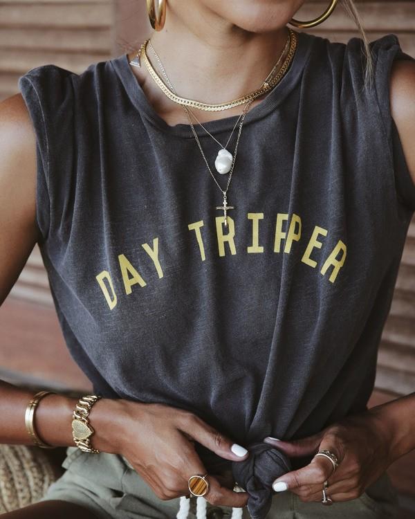 0 Day Tripper T-Shirt Black J467WBDA Billabong