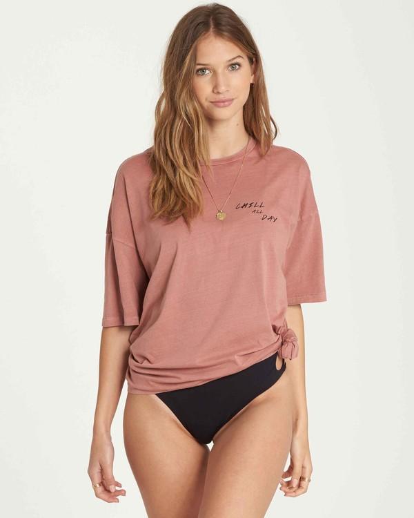 0 Chill All Day Boyfriend T-Shirt  J499QBCH Billabong