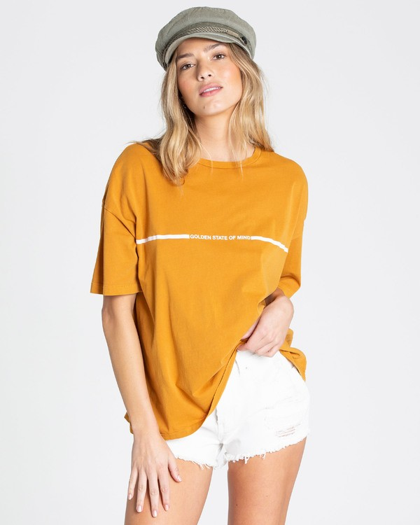0 Golden Hour Tee  J499TBGO Billabong