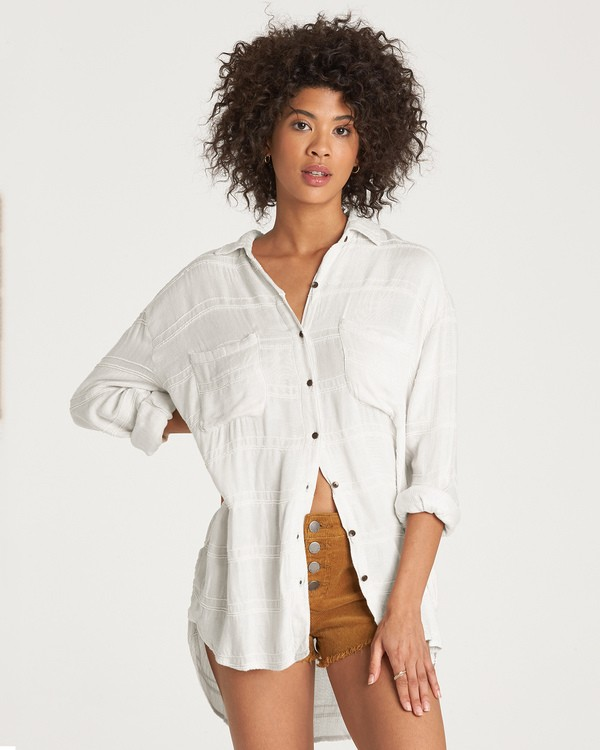 0 Easy Movin Top Beige J516VBEA Billabong