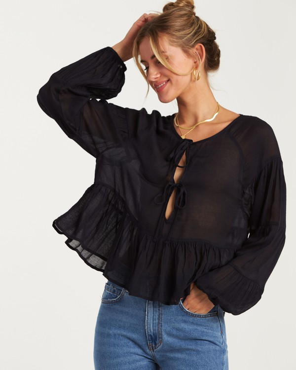 0 By The Sea Top Black J519WBBY Billabong
