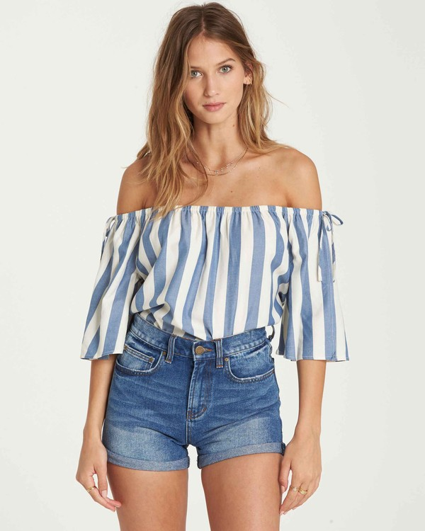 0 Match Up Off-The-Shoulder Top  J528QBMA Billabong